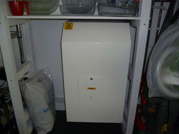 Terry Lifts Harmony through floor wheelchair lift power unit box situated at a suitable convenient area