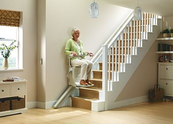 Stannah Siena stairlift for straight stairs