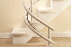 Bespoke Infinity stairlift stop-start options