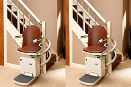 Handicare 2000 stairlift for curved stairs